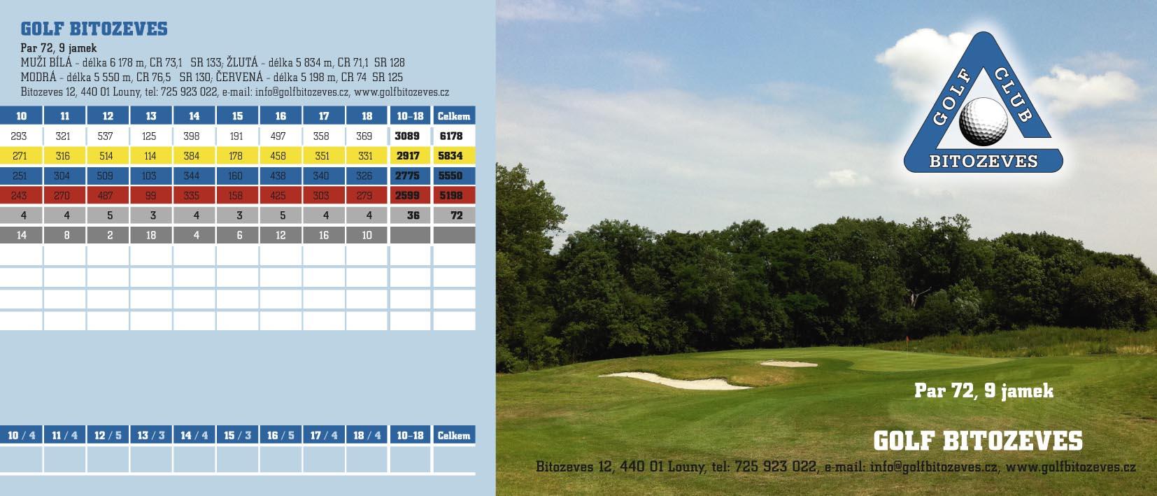 Golf Bítozeves - scorecard_back